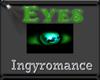 green fox eyes f
