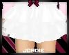 J~ White skirt