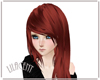 Red Kawaii Hair