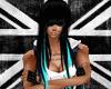 Black/Cyan Hailey