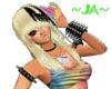 ~JA~ Blonde W/ Black