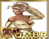 QMBR Kimono Top Gold