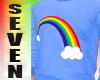 Silver Seven Rainbow blu