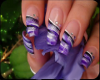lilac frost long nails