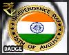 [R] Badge 15 Aug M/F