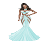 Mint  CockTail Gown