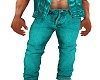MEN /BOYS TEAL JEANS
