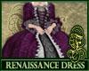 Renaissance Dress Purple