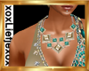 [L] Champagne necklace