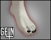 -G- Goth Toes