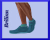 [B]  Teal Blue Shoes
