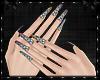 Rainbow Diamons Nails v3