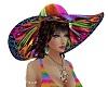 Hippie big hat