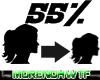 Scaler 55% Head Female