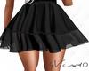 4V Juliene Skirt Black