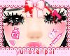 ♡Nurse face stickers