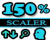 150% Scaler Head Resizer