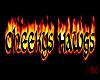 Cheekys Hawgs Sticker
