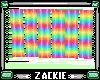 rainbow wave screen
