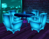 Neon Club Table/Chairs