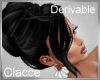 C jac black hair up