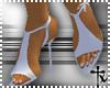 -tx- Stuning Heels White