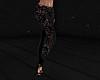 Black Lace Jeans RL