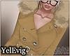 [Y] Winter beige coat