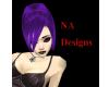 (NA) Purple Liye Hair