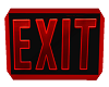 EXIT NEON ROOM SIGN