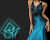 ~M~ Antigua Blue Gown