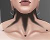 .CLOWN. neck tattoo