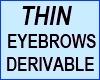 Thin Male Eyebrows