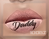 |gz| daddy lips makeup