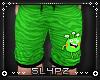 !!S Babyboy Alien Shorts