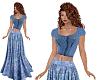 TF* BOHO Outfit Blue