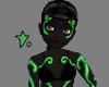 Neon Rave Skin Green F