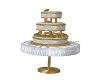 Ani Golden Wedding Cake