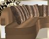 Rich Brown Sofa