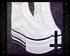 (✘) Converse White