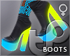 TP Cyberpunk Heel Boots