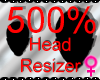 *M* Head Resizer 500%