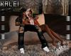♔K CA Couples Pillow