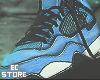 Air Retro 4 Blue