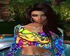 MrsZ~60's Hippie Tee