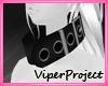 [VP] Furry Collar ~Black