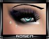 R|  Eyes piercing