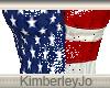 US Flag Reflective Dress
