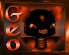 Geo Halloween Bat