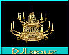 DJL-Chandelier AntiqueGd